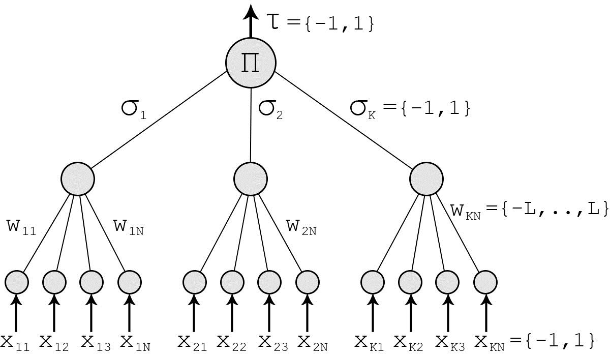 Tree Parity Machine