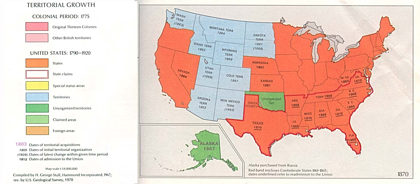 FileUSA Territorial Growth Jpg Wikimedia Commons - Map of us 1861