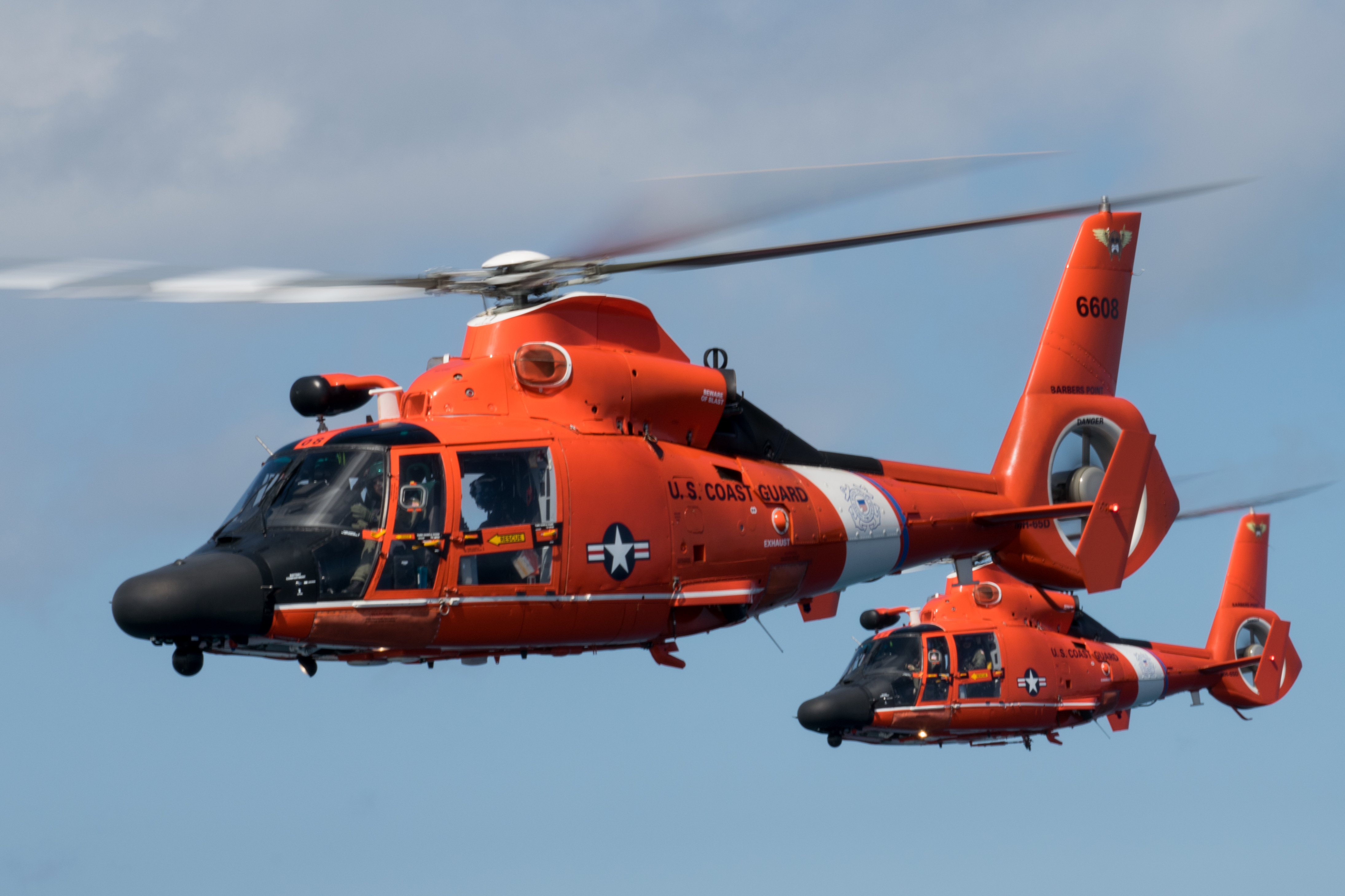 dolphin helicopter with File Uscg Mh 65 Dolphin Formation Flight Over Oahu  1 on File Troops Carry Casualty to Blackhawk Helicopter MOD 45150649 also Avdaufin together with 2013 CHC Helicopters Eurocopter AS332 crash in addition Floridaisland also 555 Fennec.