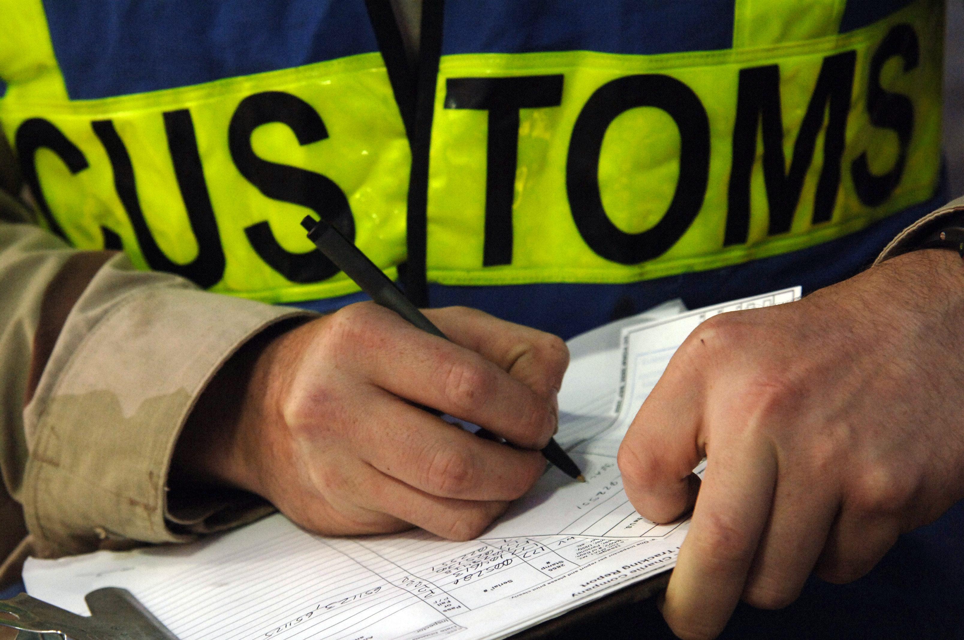 Customs Order Wait Times