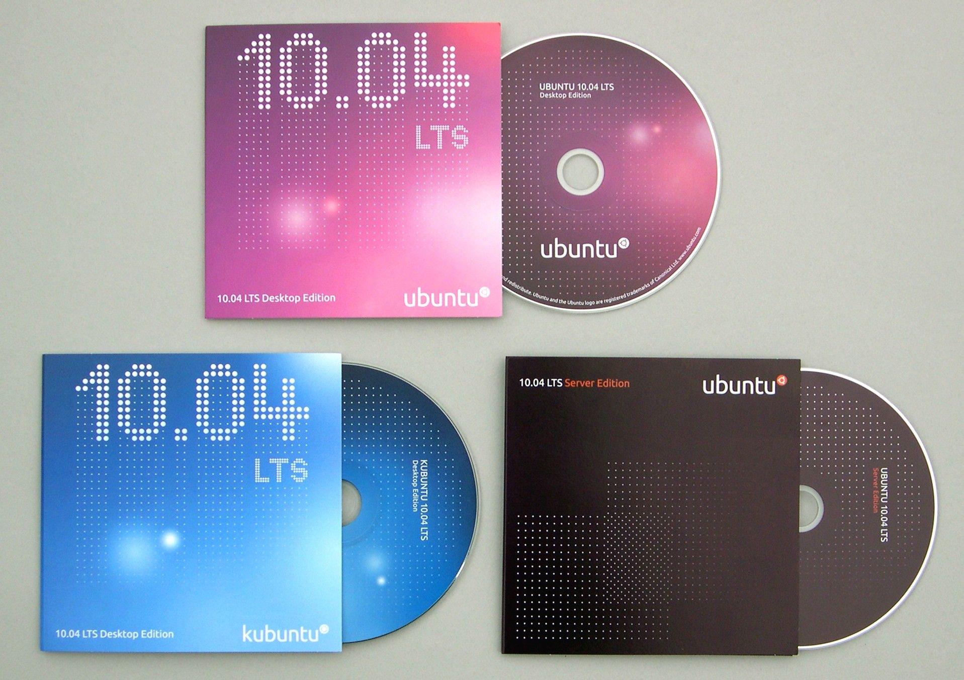 Verschiedene Ubuntu-CDs