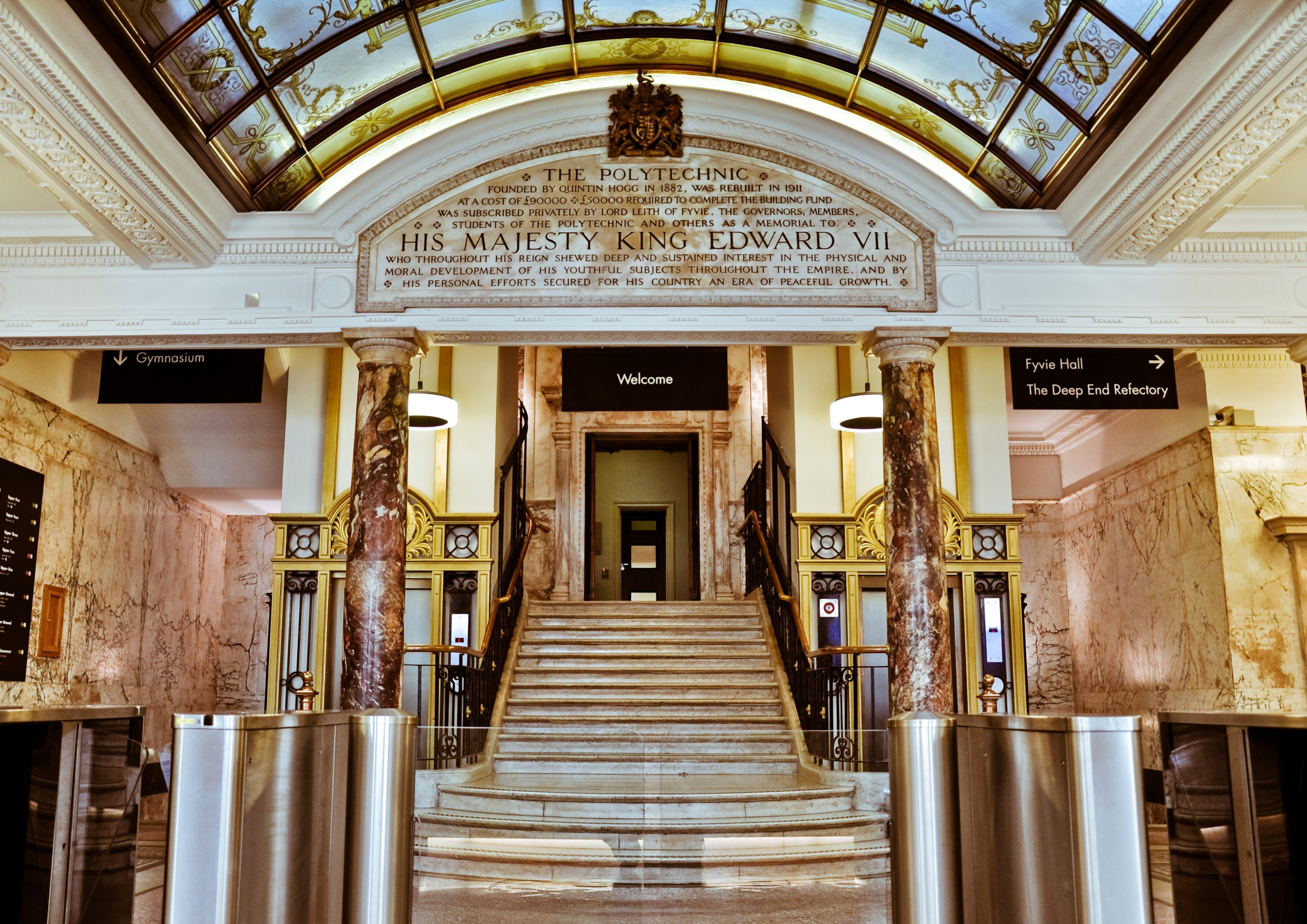 Open Foyer University : University of westminster wiki bio everipedia