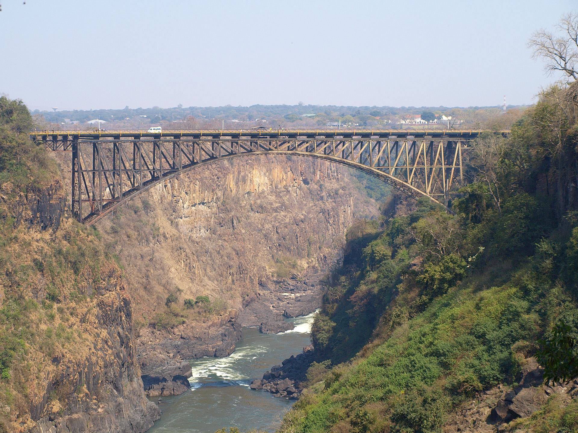 Victoria Falls Bridge – Wikipedia