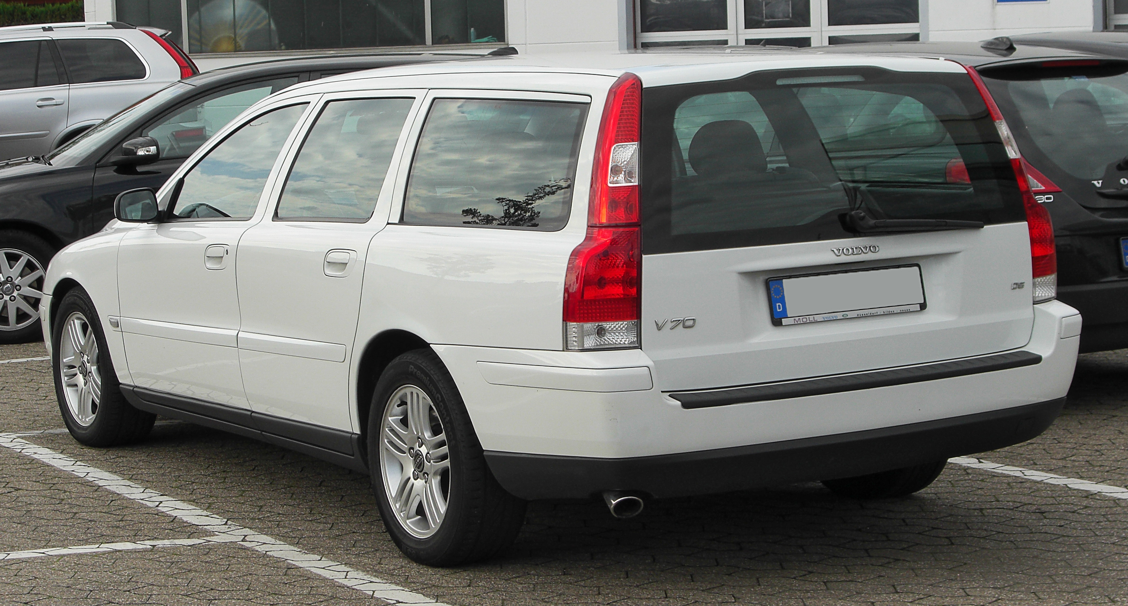 datei volvo v70 ii d5 facelift rear wikipedia. Black Bedroom Furniture Sets. Home Design Ideas