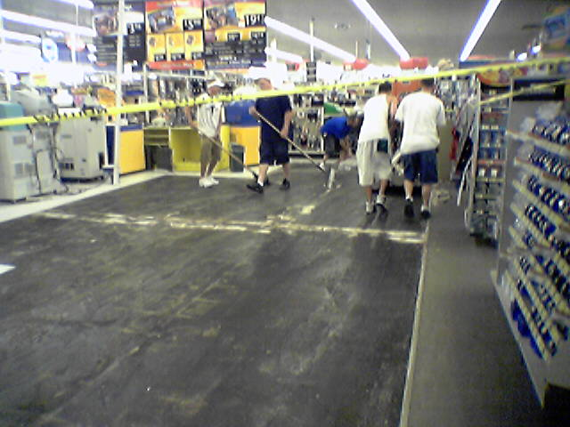 File Walmart Store Remodel Lexington Virginia Floor