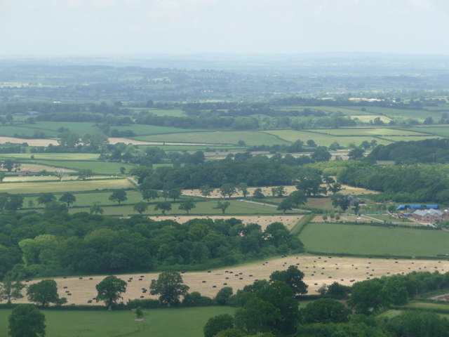 Woolland, view across village from above - geograph.org.uk - 1374873