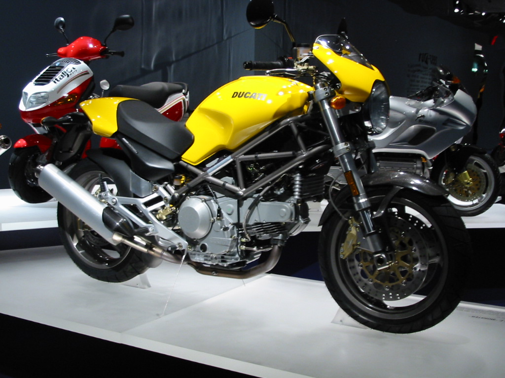 Ducati Monster  Exhaust Sound