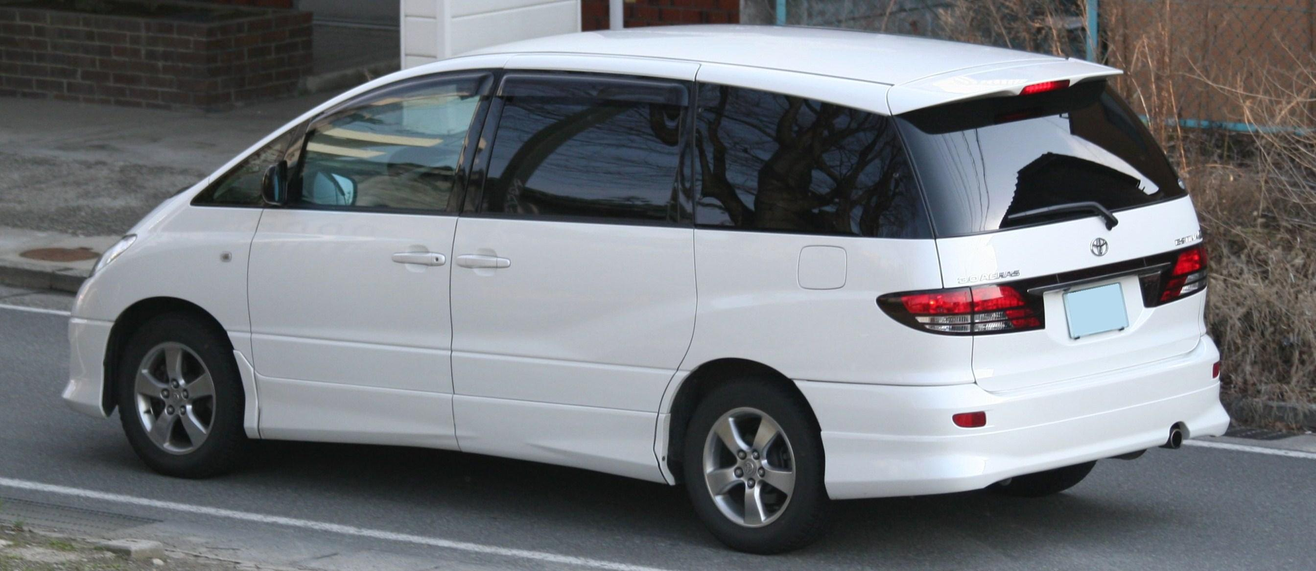 File 2003 2005 Toyota Estima Rear Jpg Wikimedia Commons