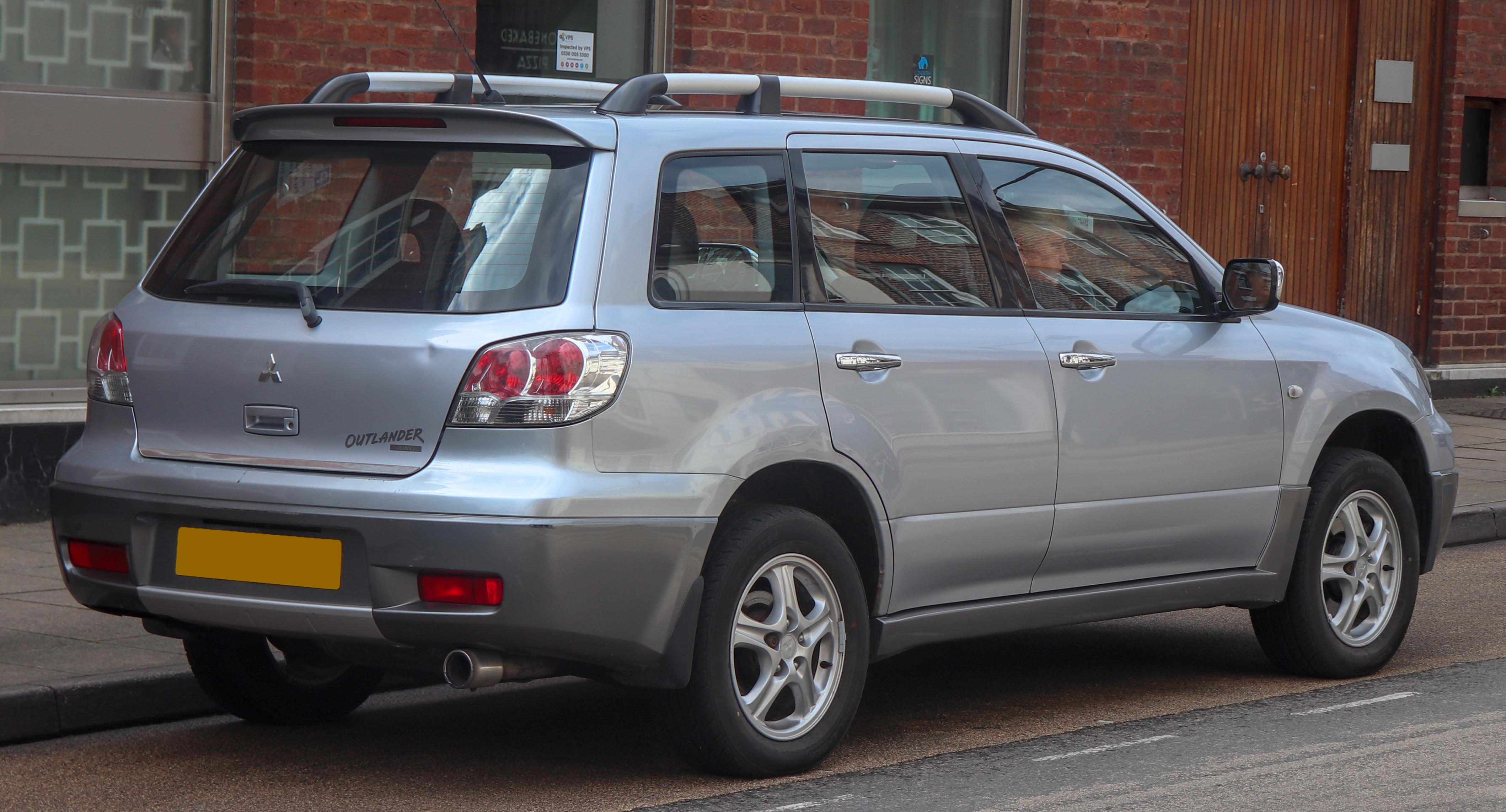 Mitsubishi Outlander - Wikiwand