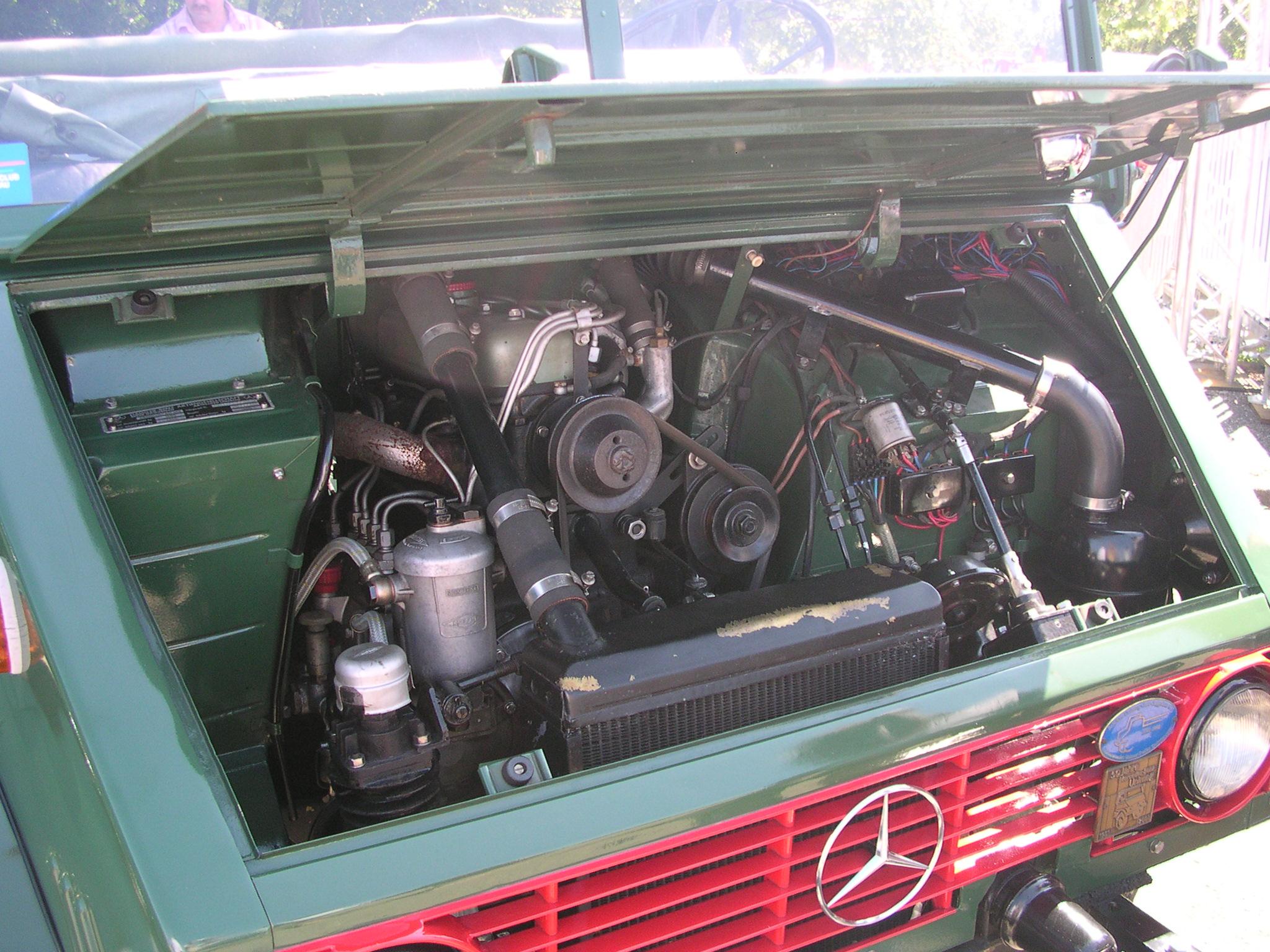 Mercedes 170D 180D crankshaft