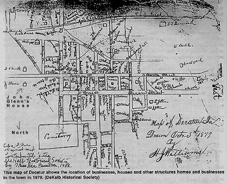 File 5 Oct 1879 Decatur Ga Map Dekalb Historical Society Jpg