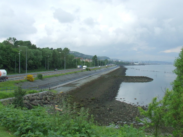 a8 at kelburn - geograph.org.uk - 841079.jpg