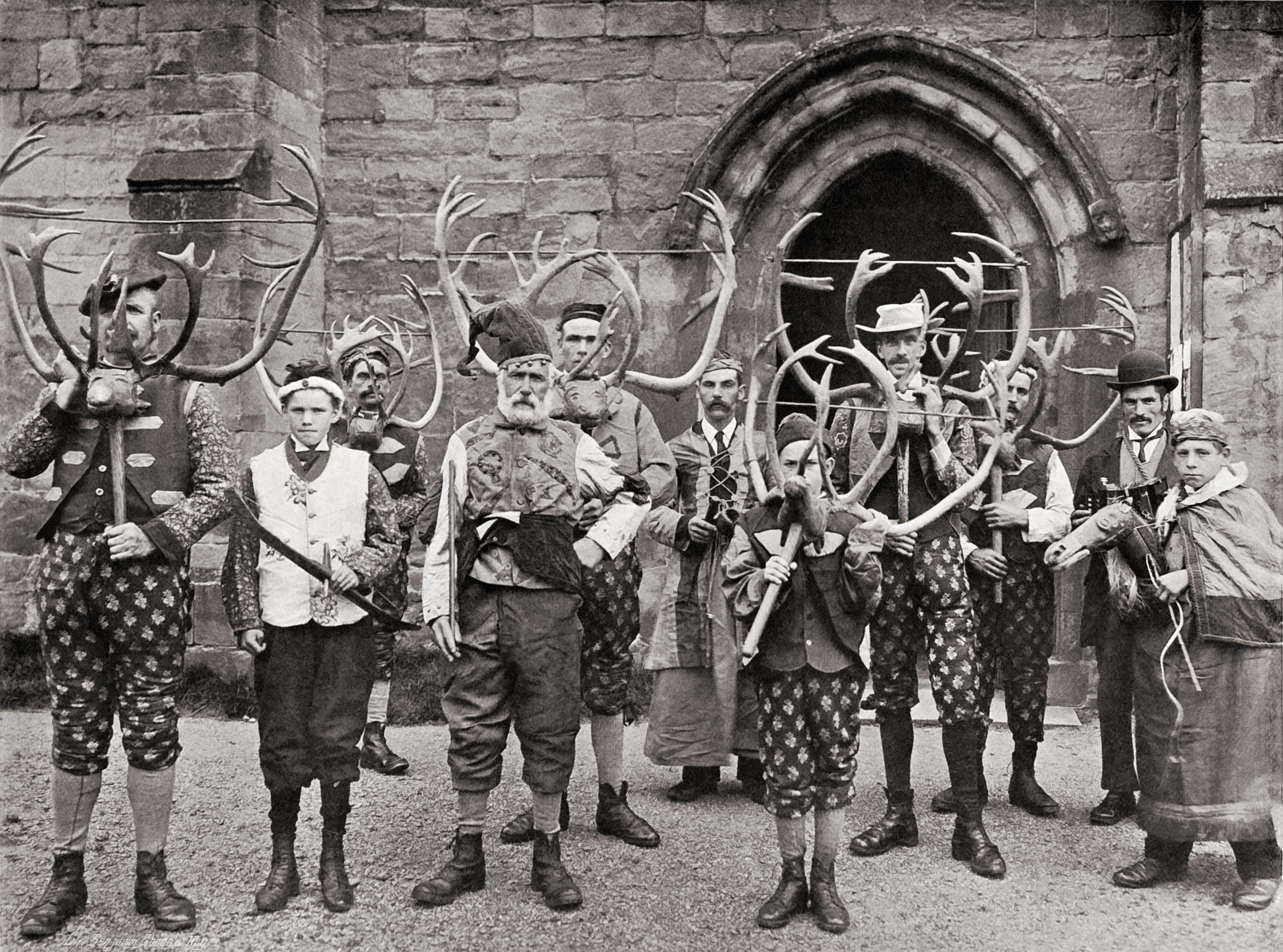 Abbots bromley horn dance for The bromley
