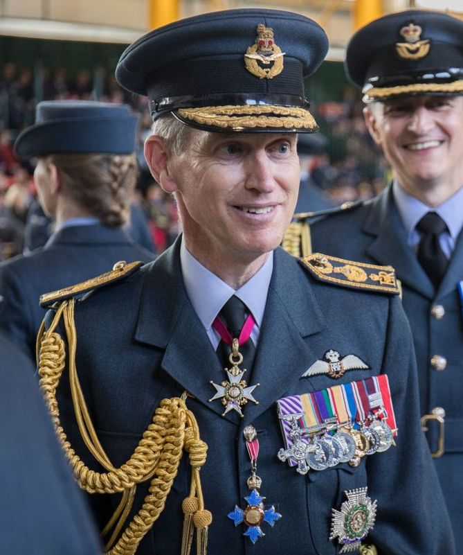 Air Chief Marshal Hillier in 2019