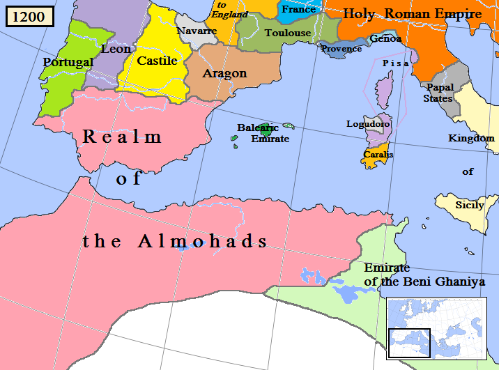 the two powers of government of the spanish aragon in the medieval ages Largely employed monarchical forms of government and of defining power a political power, in this case the spanish monarchy aragon, the two.