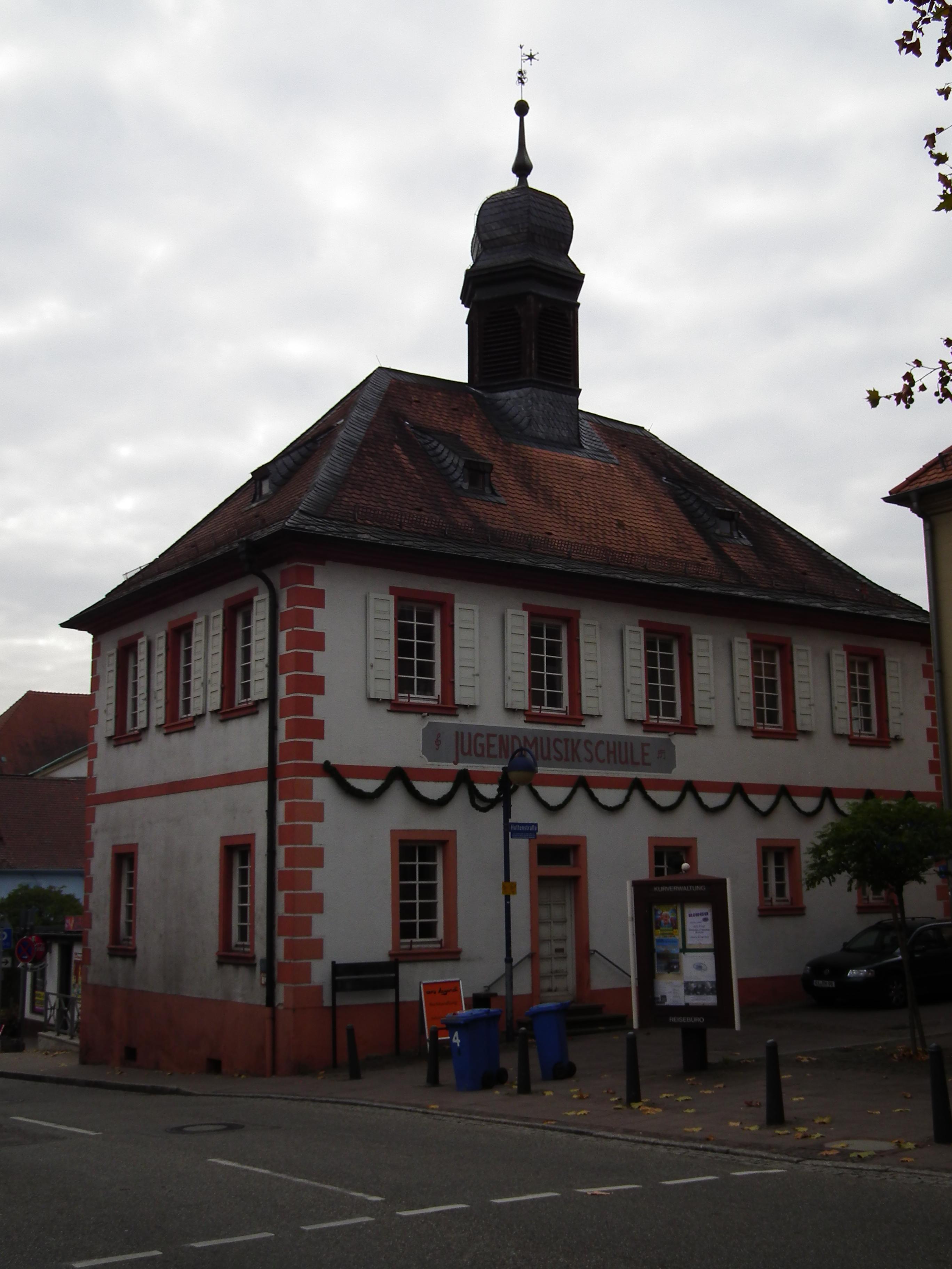 Rathaus Langenbrücken
