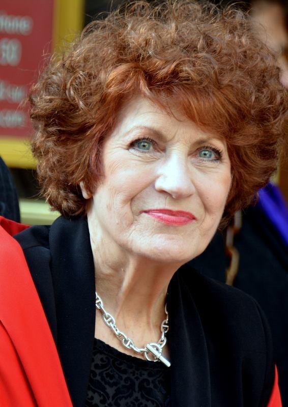 Andréa Ferréol à la cérémonie des Molières | Photo : Wikimedia.