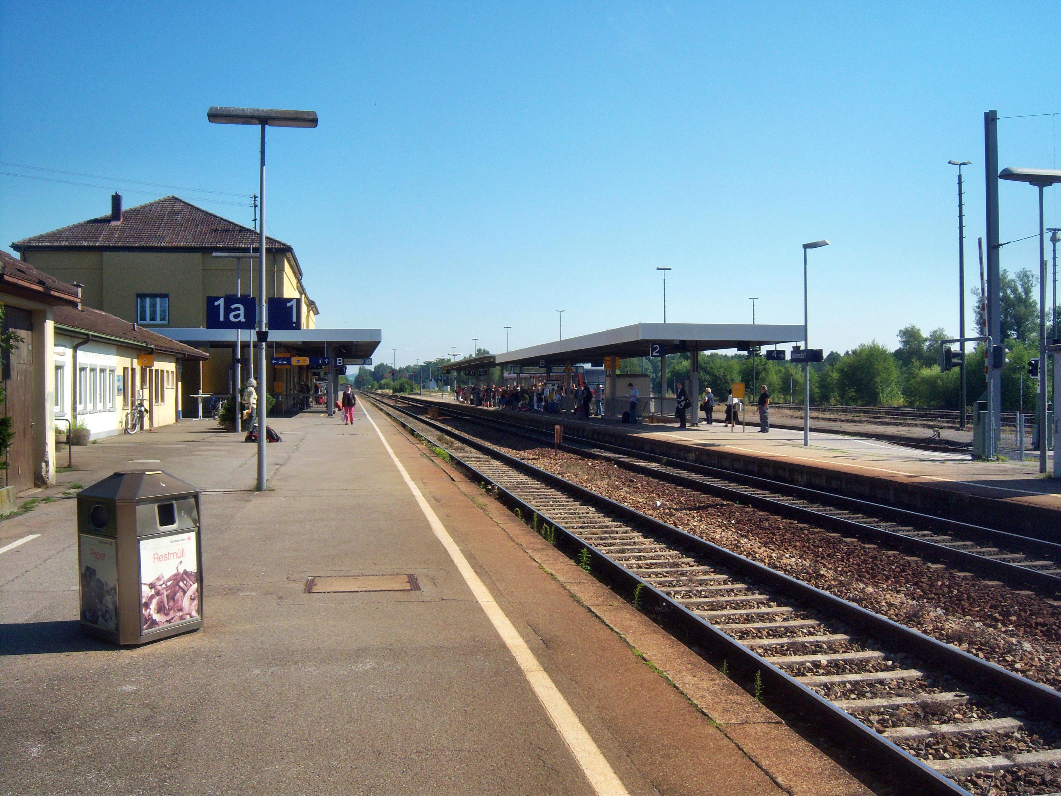 Bahnhof Aulendorf - Wikiwand