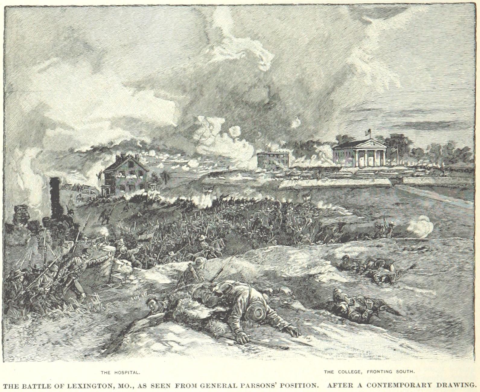 First Battle of Lexington - Wikipedia