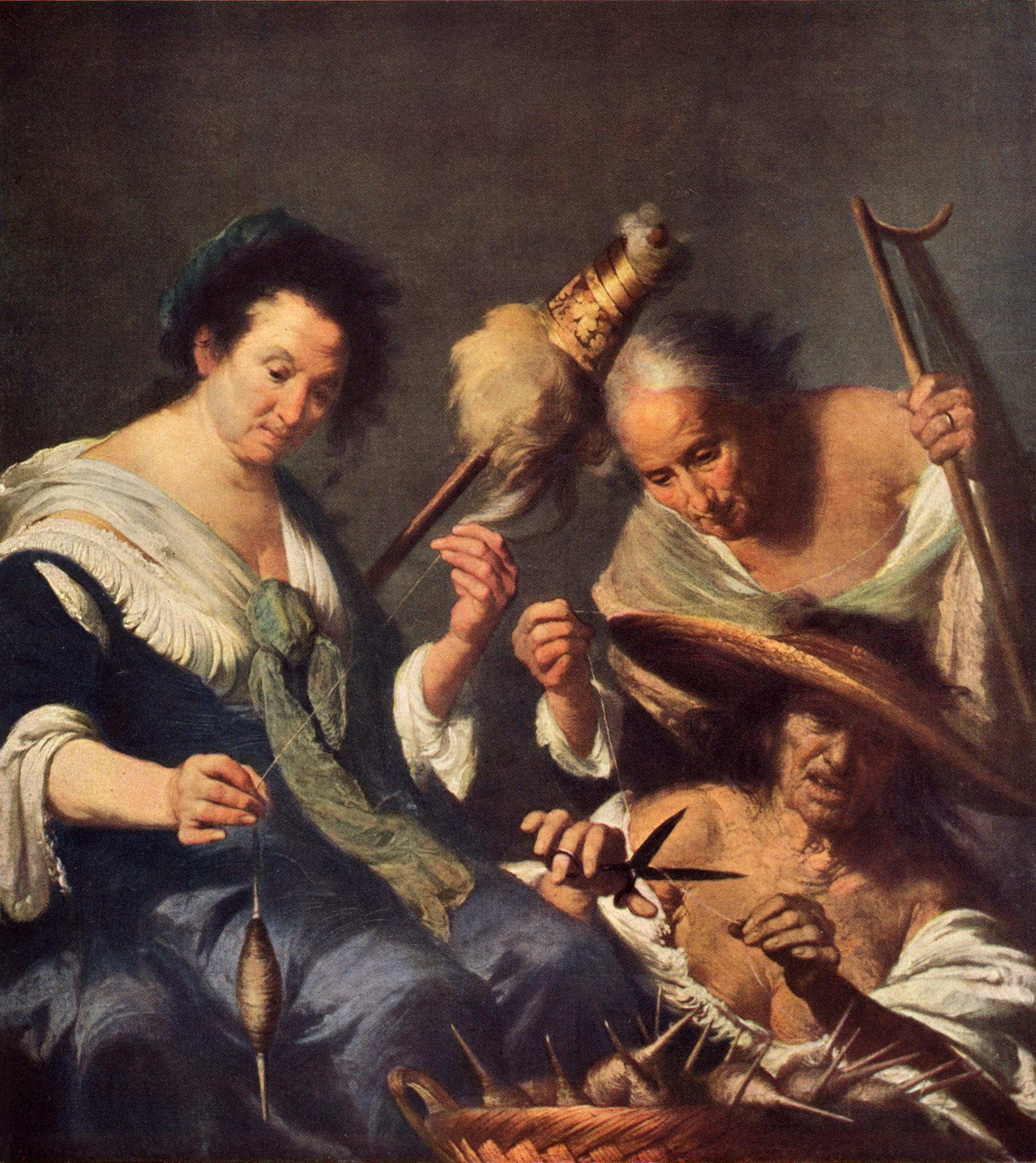 Bernardo Strozzi. Le tre Parche