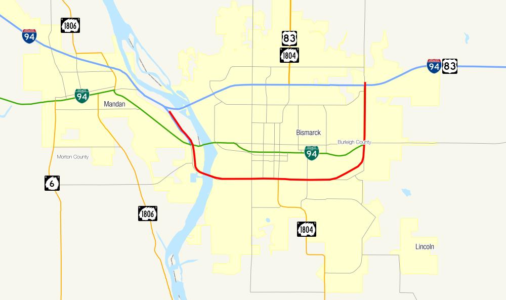 Bismarck Expressway Wikipedia
