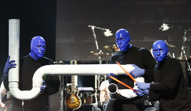 By Galeria de Léo Pinheiro - Picasa (Blue Man Group em São Paulo em 02/08/2009) [CC BY-SA 3.0 (http://creativecommons.org/licenses/by-sa/3.0)], via Wikimedia Commons. Las Vegas with kids.