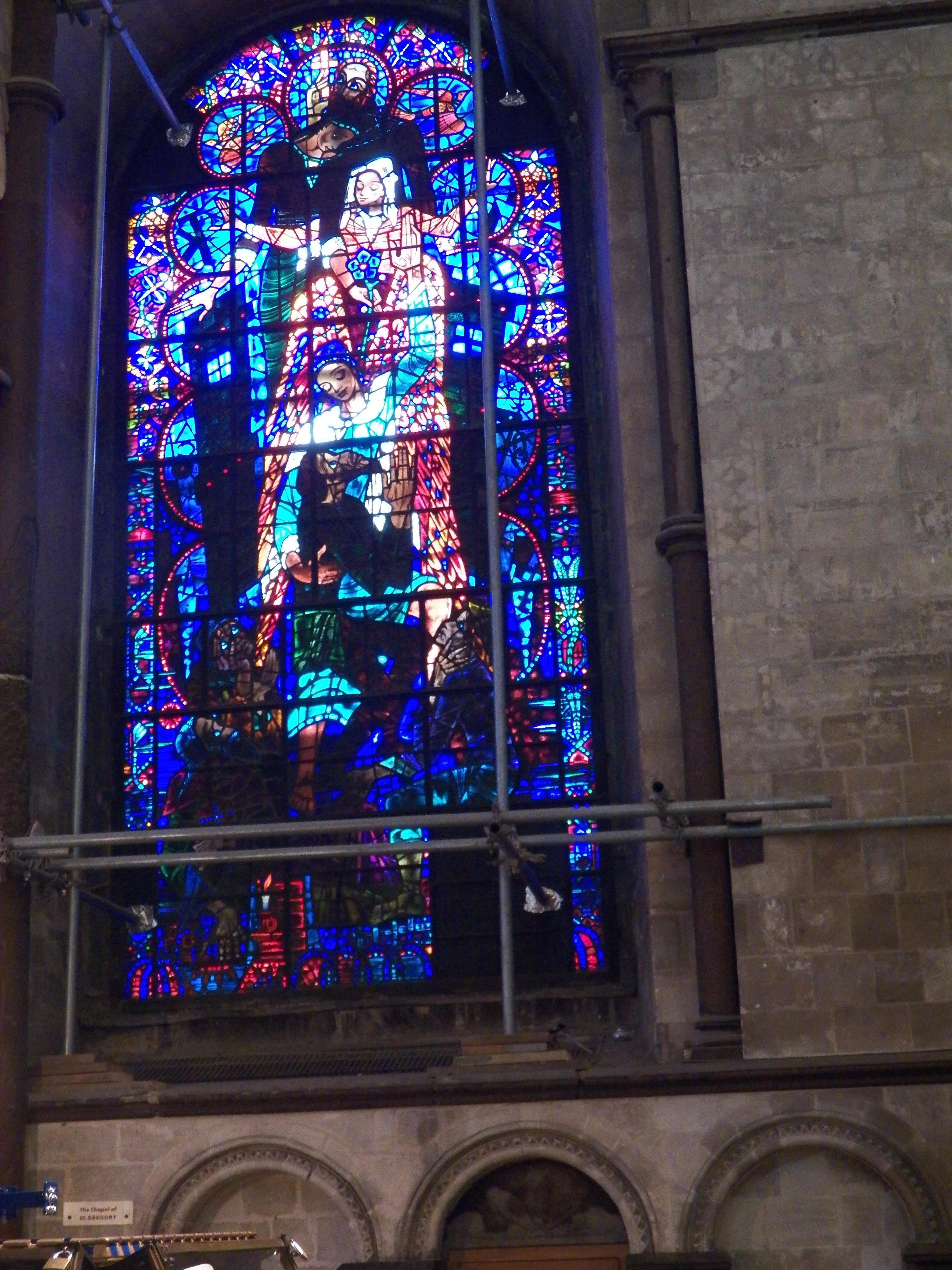 Description Blue Stained Gl Window Jpg