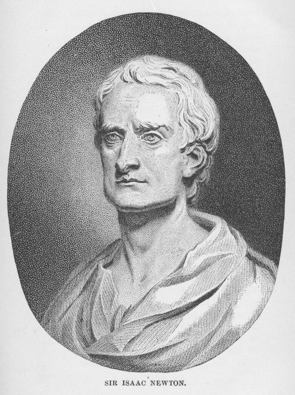 newton Isaac Newton (Bolton, Sarah K. Famous Men of Science. NY: Thomas Y. Crowell & Co., 1889)