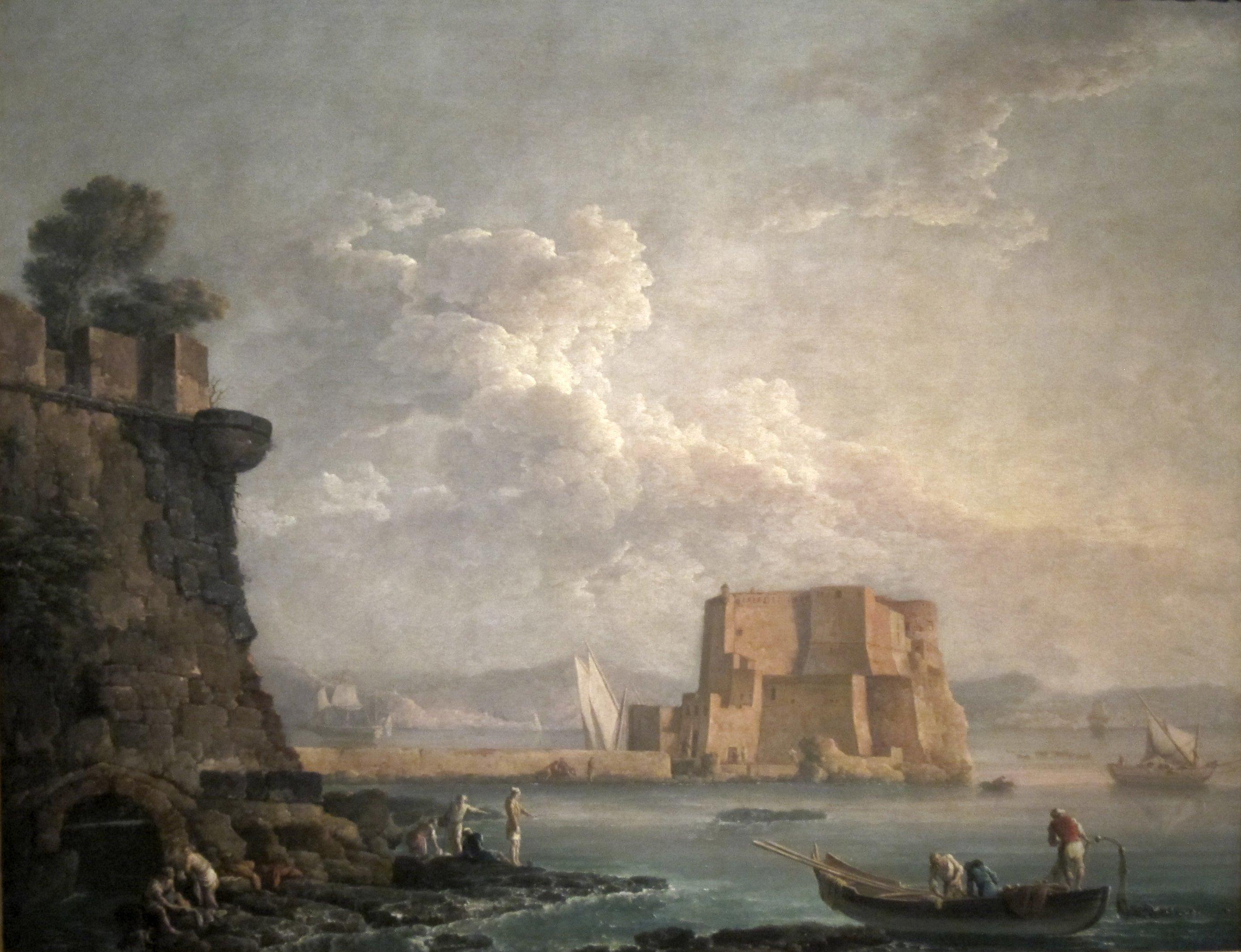 File Bonavia Carlo Castel Dell Ovo Naples 1788 Jpg