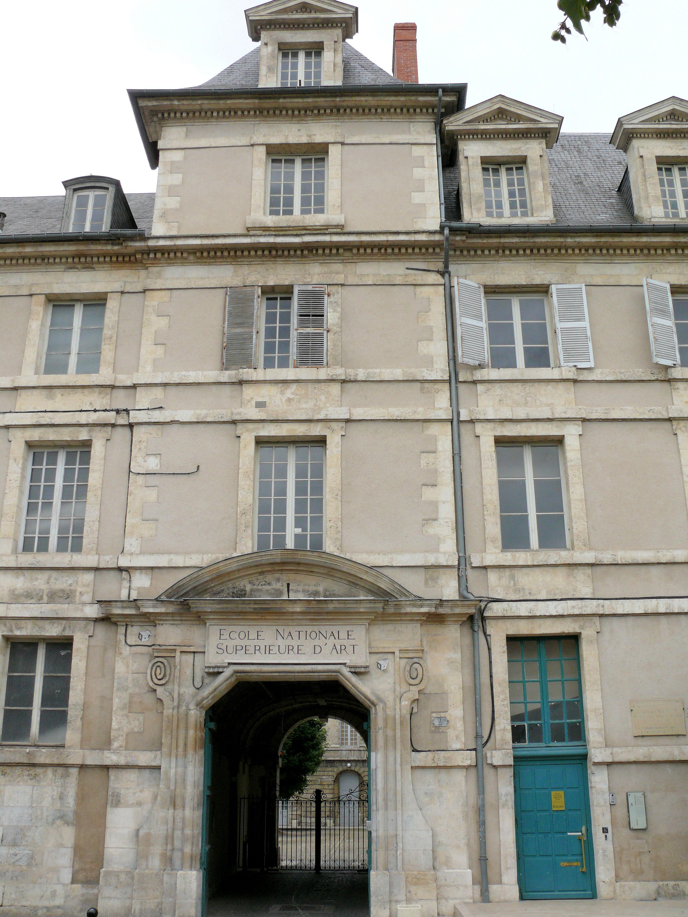 Galerie D Art Bourges École nationale supérieure d'art de bourges — wikipédia