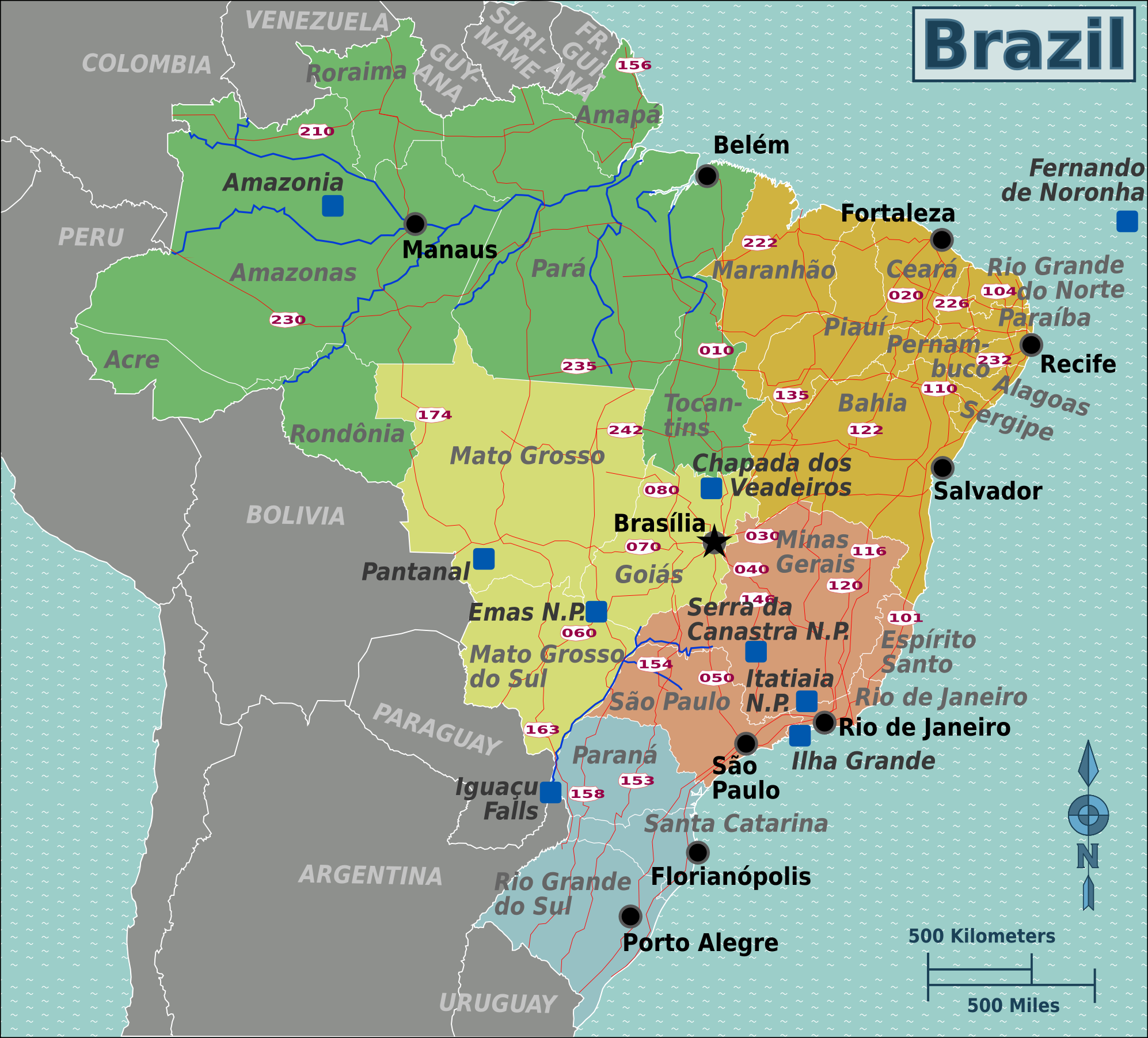 6991099e2a1093 Brazil – Travel guide at Wikivoyage