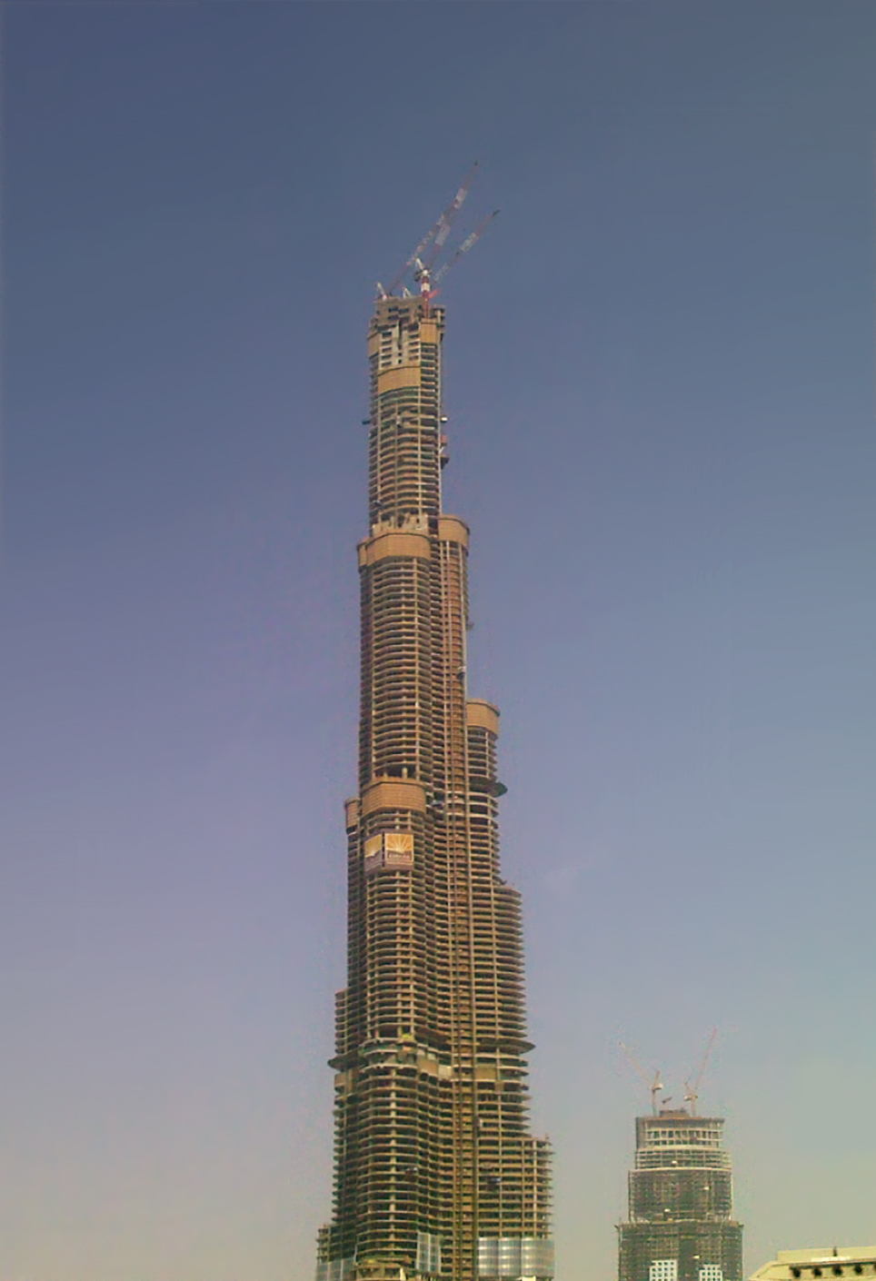 Emaar Properties Claims Burj Dubai As World S Tallest Building Wikinews The Free News Source