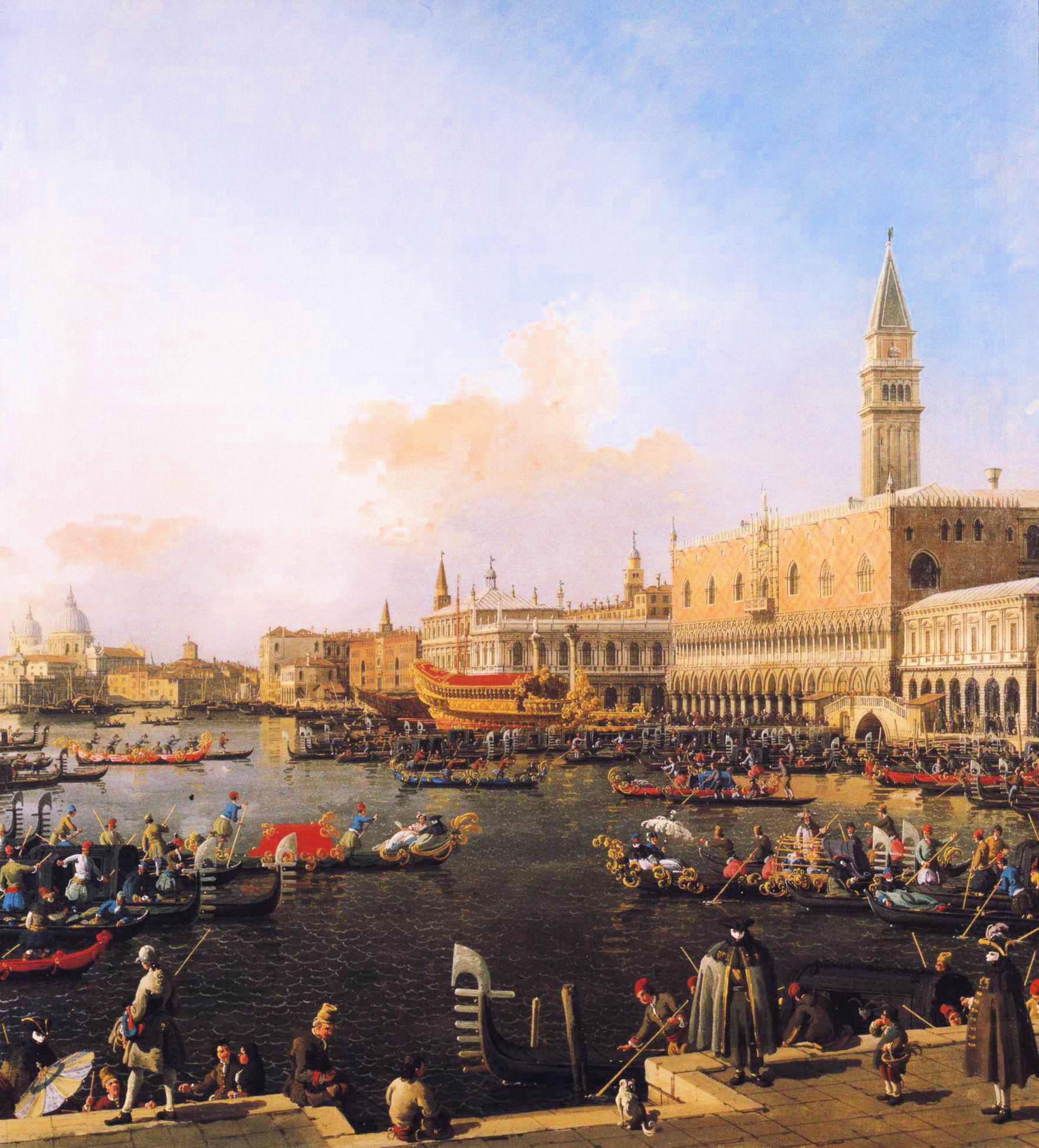 File Canaletto Venice Bacino Di San Marco On Ascension