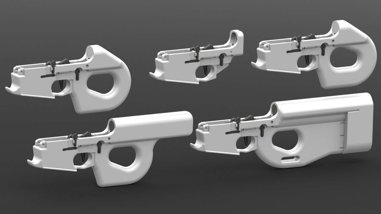 File:Charon Line of 3D Printable AR-15 Lower Receivers by