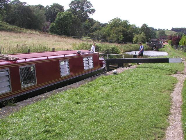 Cheddleton Locks - geograph.org.uk - 316222