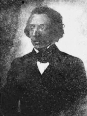 First photograph of Chopin, 1847