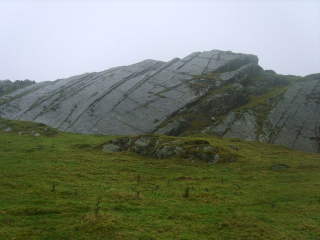 Crag on Brant Fell - geograph.org.uk - 1543798