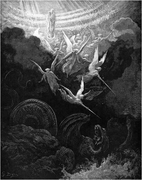 요한의 환상 (귀스타브 도레, Gustave Doré, 1866년)