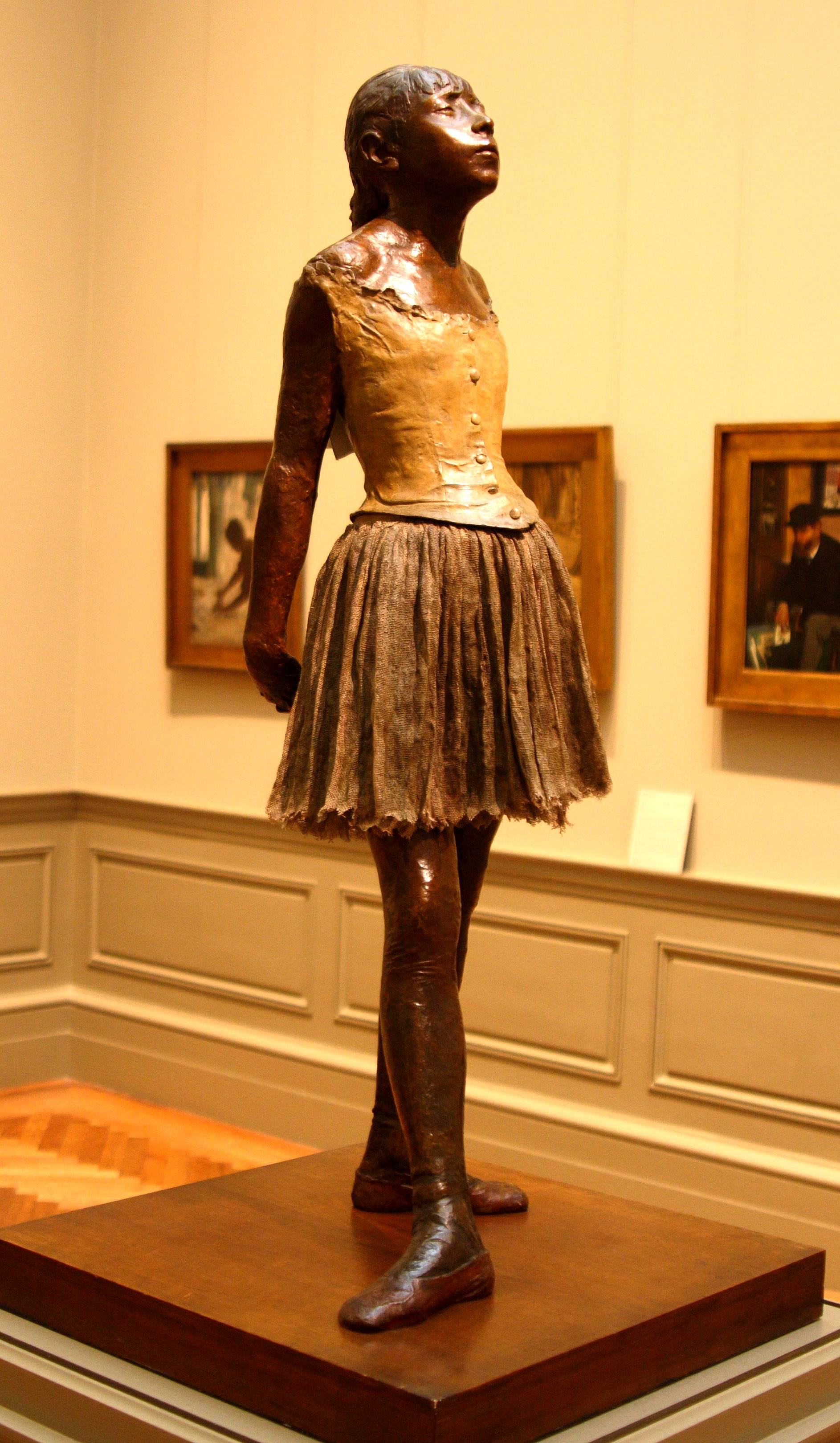 degas ballerina sculpture - HD 1886×3239