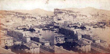 File:Degoix, Celestino (1860-1890) - Genova - Panorama preso dal Scoglietto.jpg