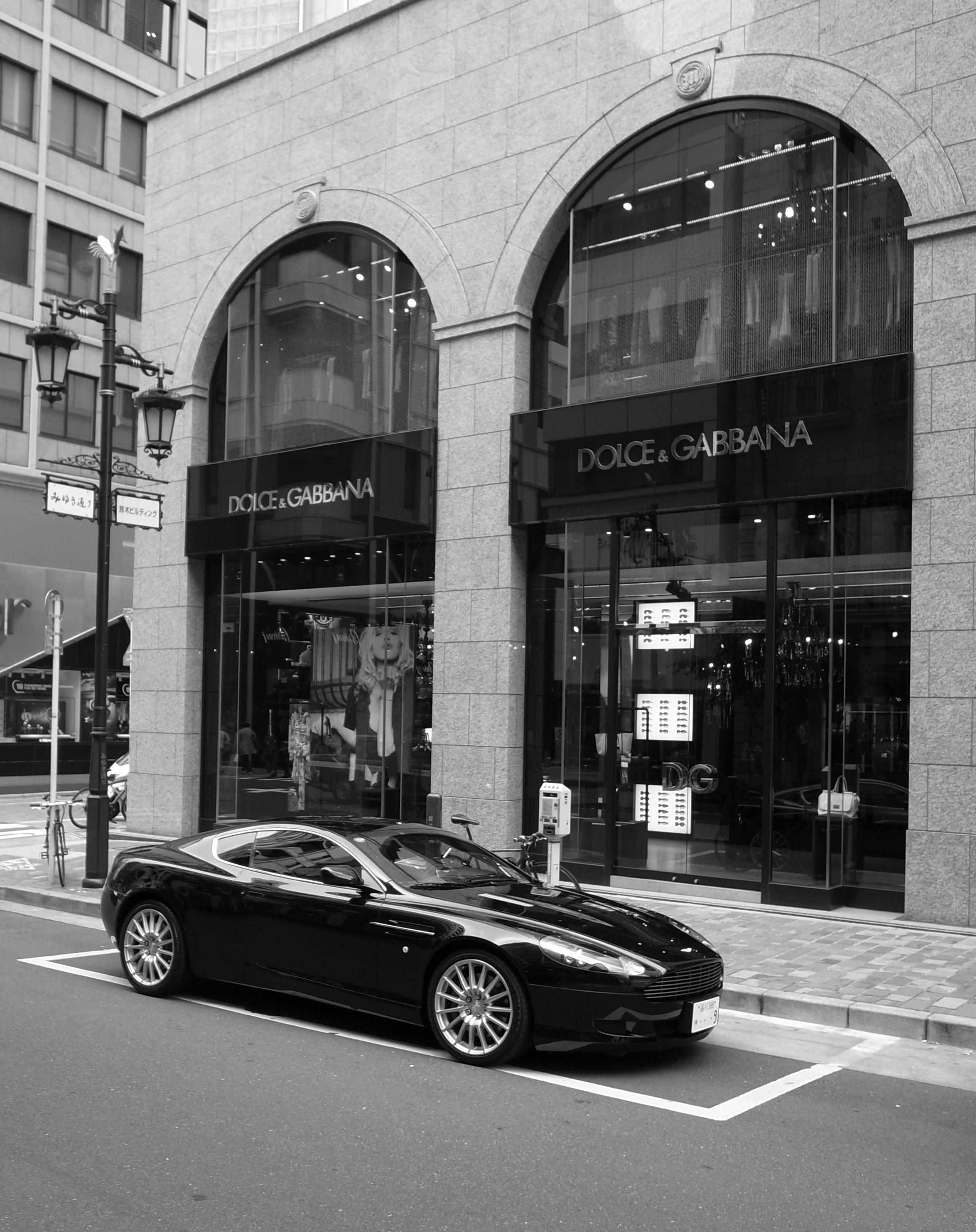 Punto vendita Dolce Gabbana a Tokyo a6c70460ed9