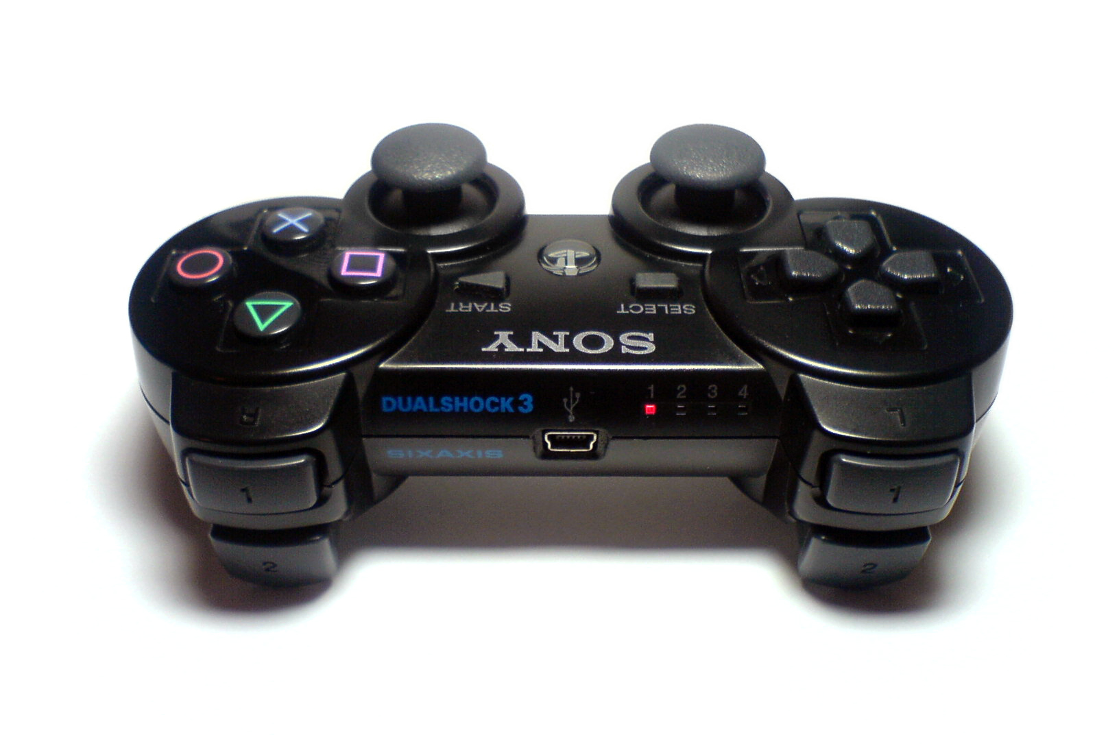 sixaxis wikiwand rh wikiwand com PlayStation 3 Controller Six Axis PS3 Controller Pictures
