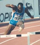 Edwin Moses at the 1987 World Championship
