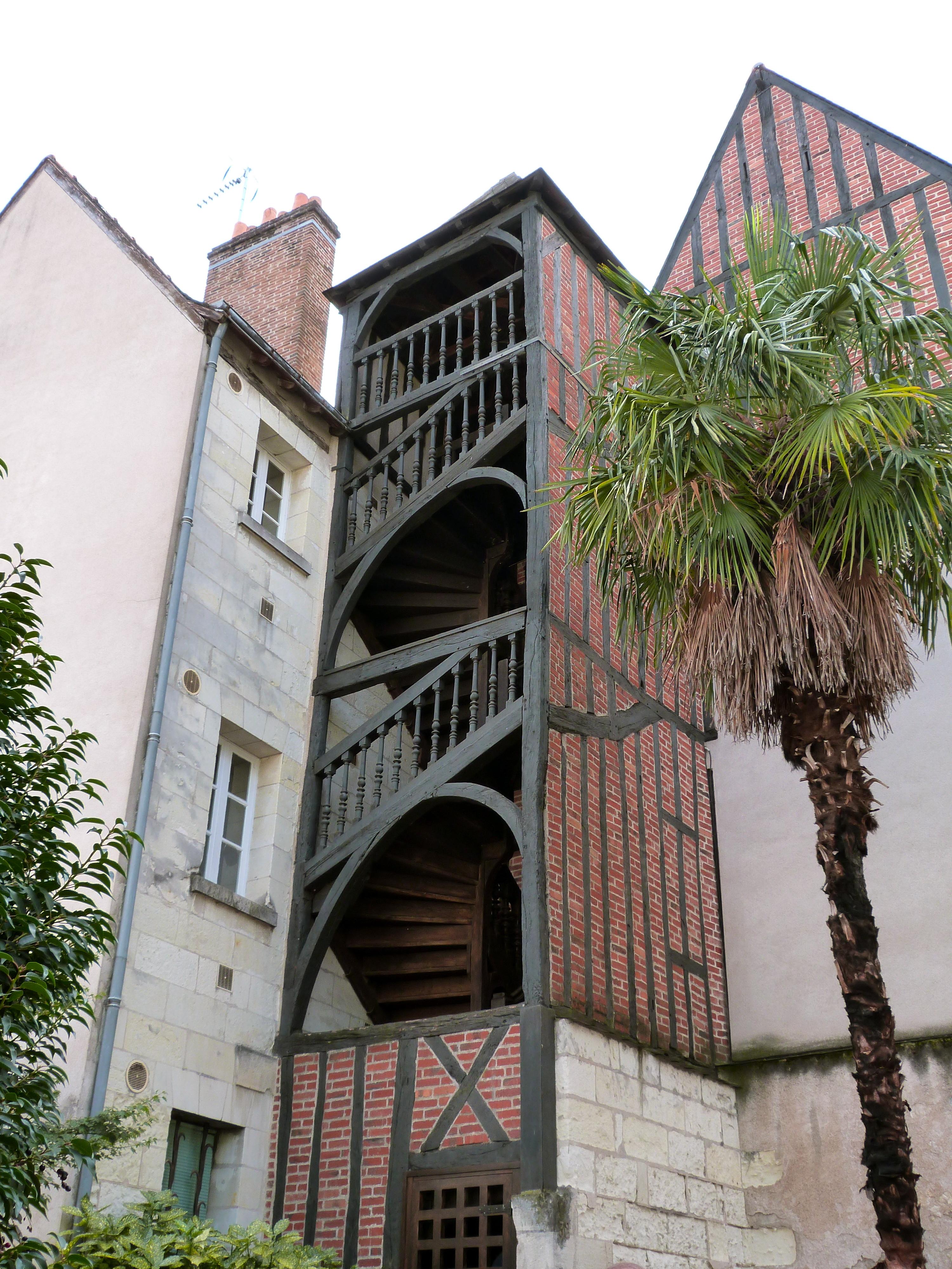 Escalier Dans La Maison file:escalier de la maison du 32 rue briçonnet a tours