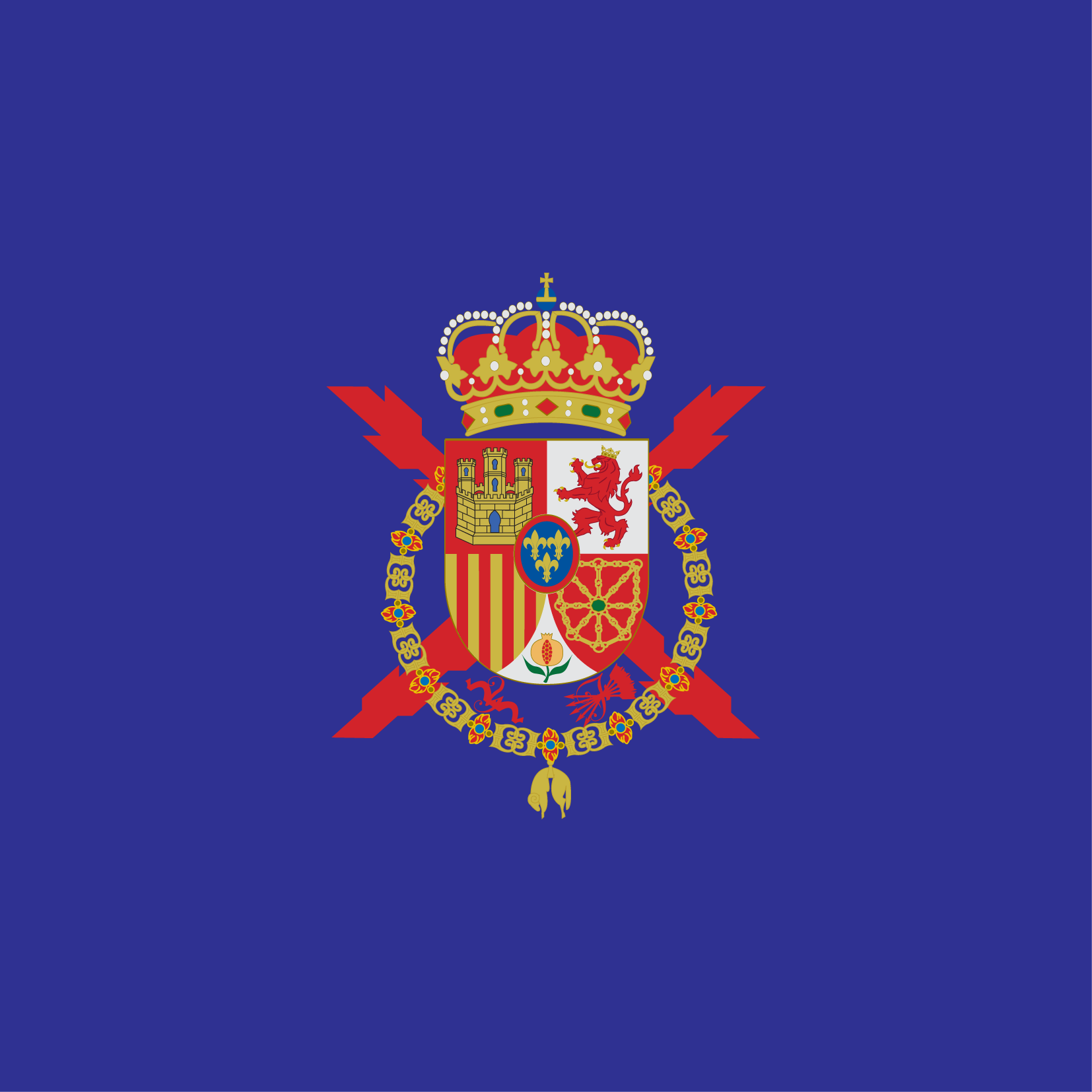 The Standard of the King of Spain