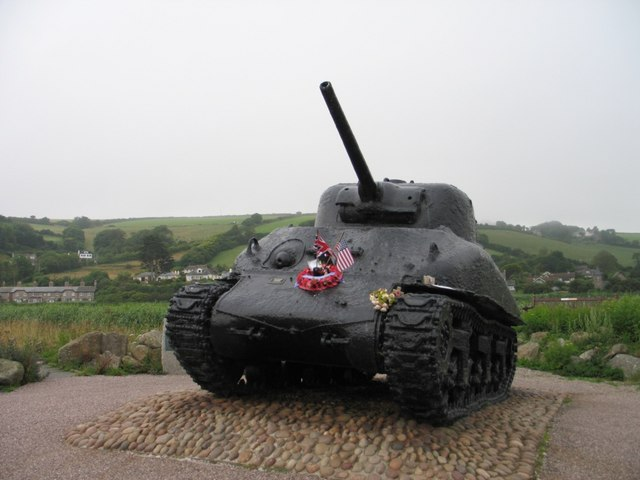 Exercise Tiger - Memorial at Torcross, Devon. - geograph.org.uk - 1476428