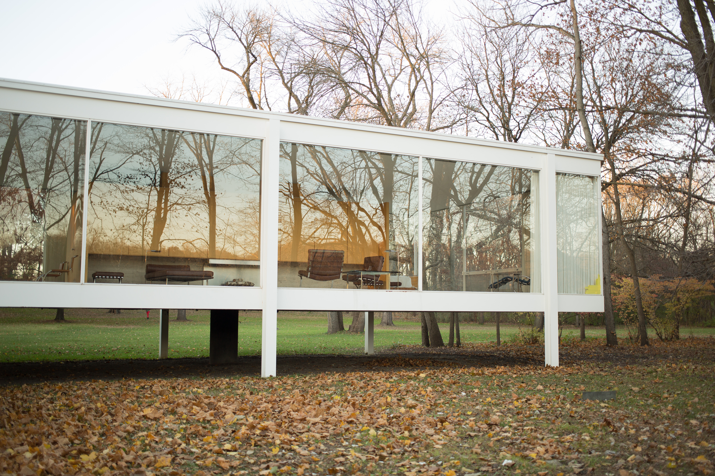 Villa Mies Der Rohe file farnsworth house by mies der rohe exterior 3 jpg