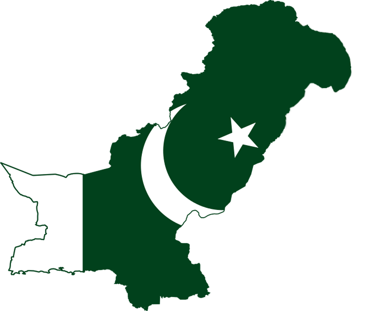 FileFlag Map Of Pakistanpng Wikimedia Commons - Map pakistan