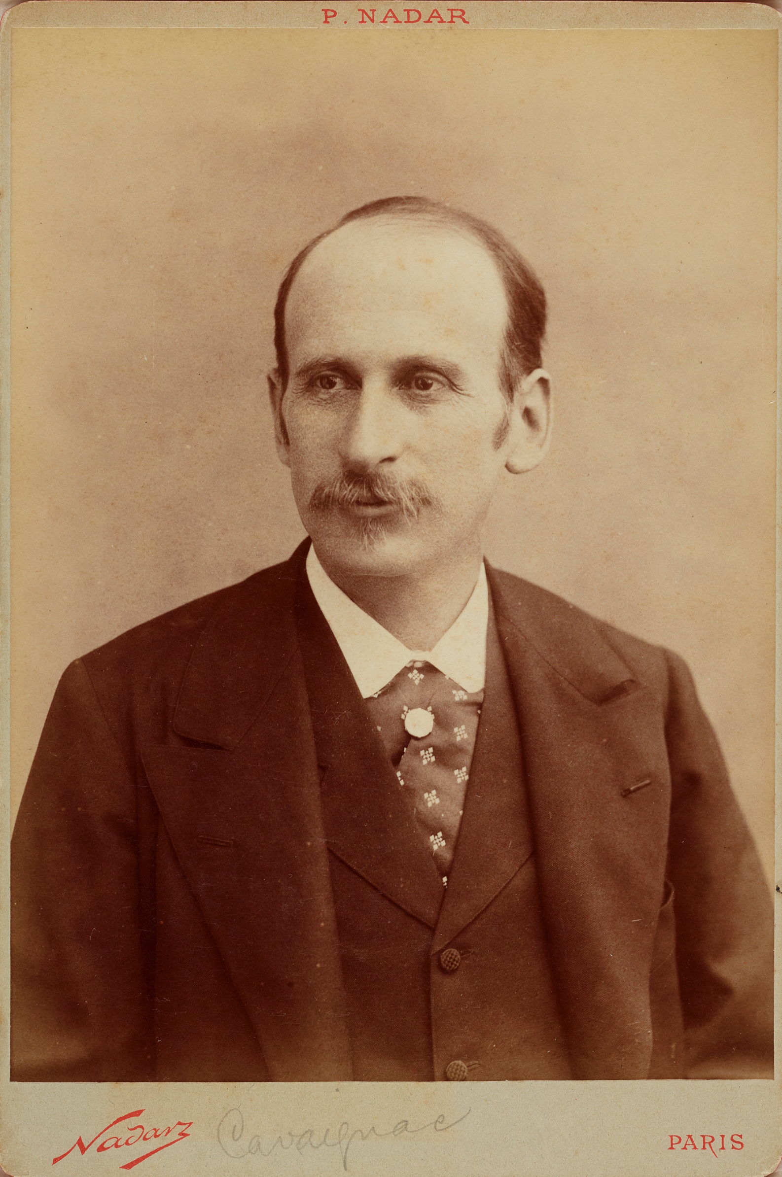 Retrato deGodefroy Cavaignac, Ministro de Guerra