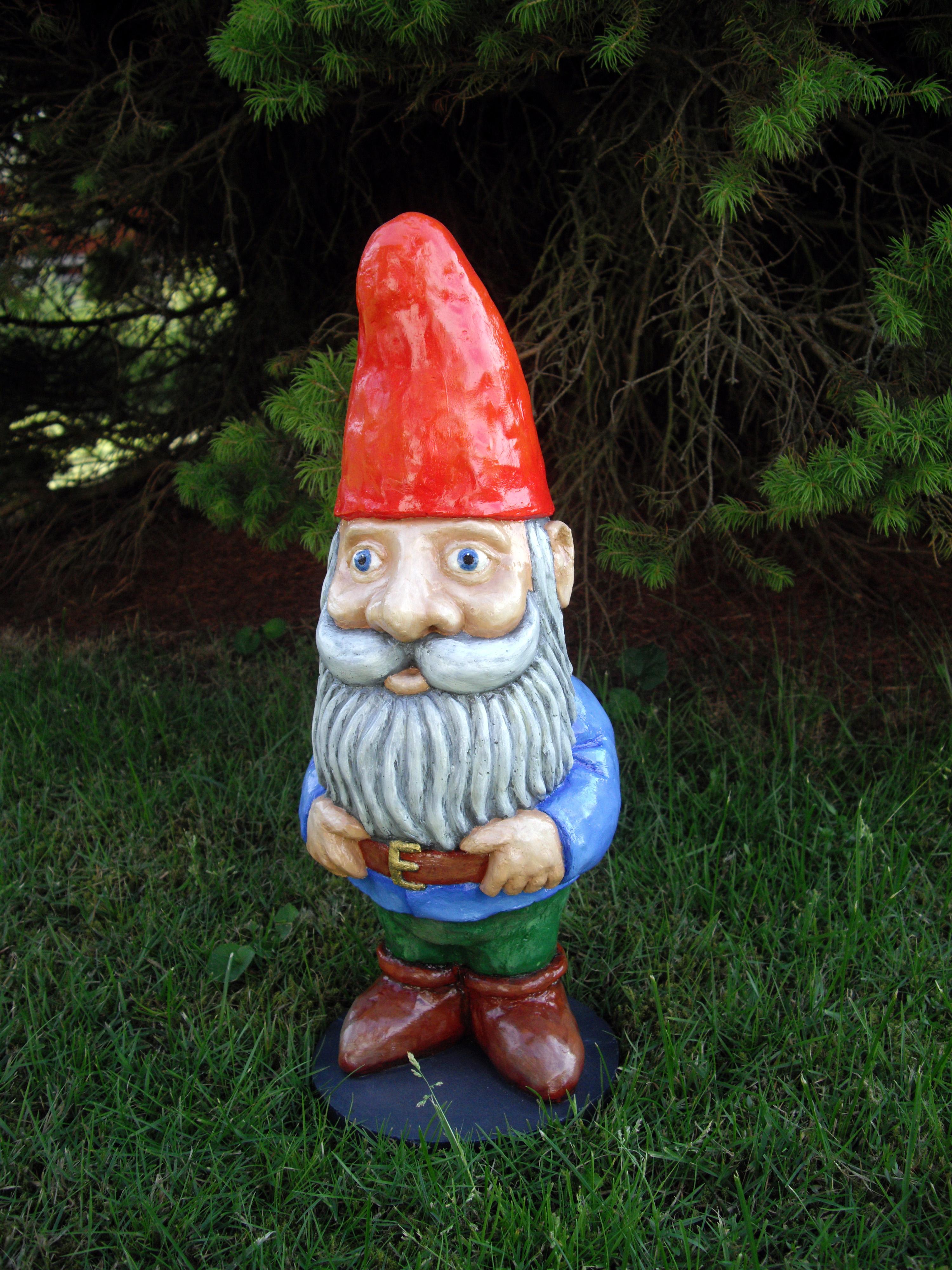 Gnome In Garden: Markus Ansara